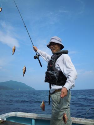 釣る溝口さん