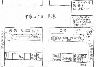 <縮小>一箱古本市の地図