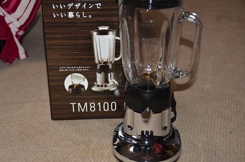 TESCOM MetalLine ジュースミキサー TM8100