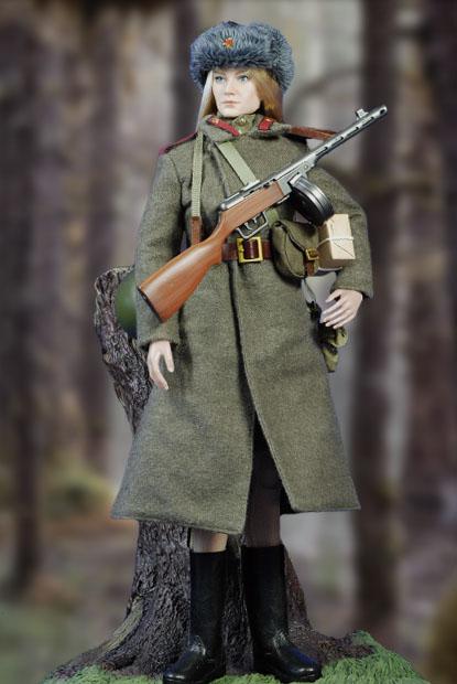 ソビエト赤軍女性兵士05
