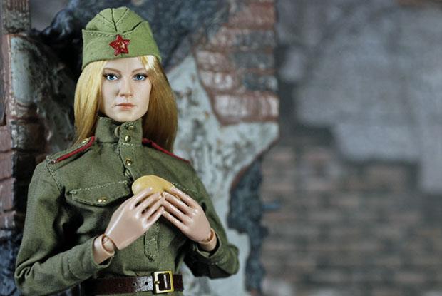 ソビエト赤軍女性兵士10