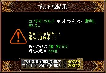 ラオスGv 2月3日 VSコンチネンタル_F様