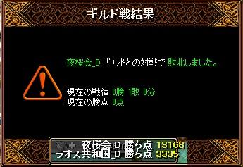 ラオスGv 3月21日 VS夜桜会_D様