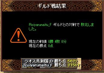 ラオスGv 3月29日 VSRoiyarunaitu_F様