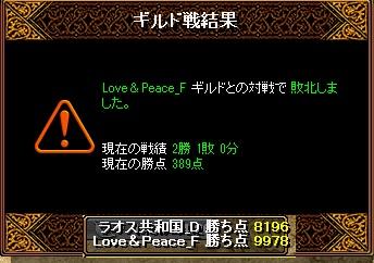 ラオスGv 4月7日 VS LovePeace_F様