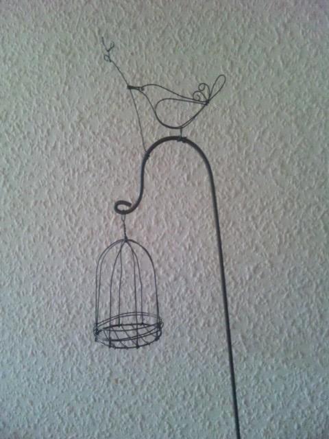 小鳥のガーデンピック