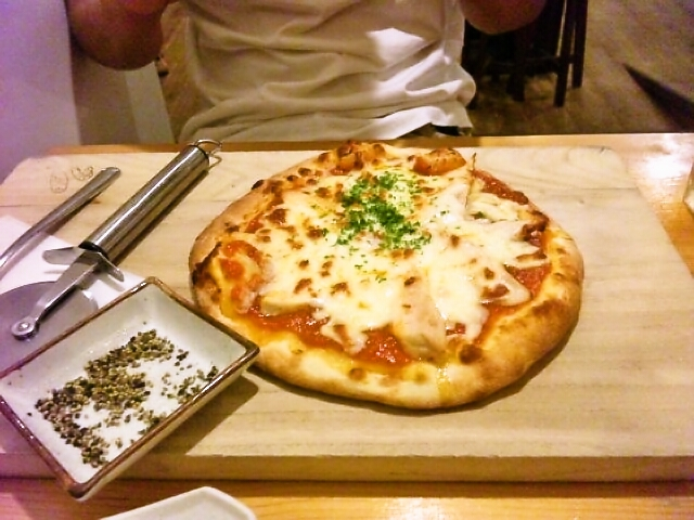 からびなのピザ
