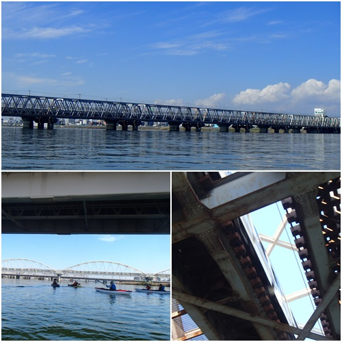 淀川から橋