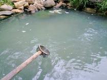 ダム下の湯1