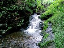 テムジンの滝