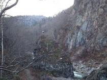 札幌の奥座敷、定山渓温泉。