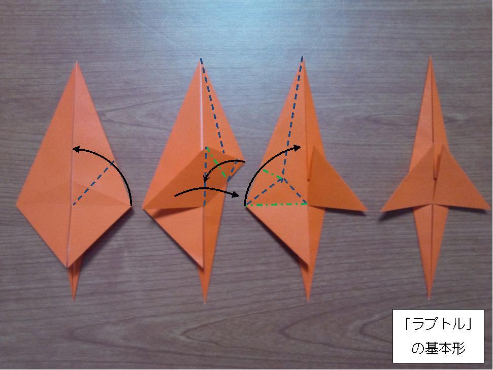 ラプトルの基本形02