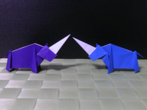 ハート 折り紙 簡単恐竜折り紙 : kyouryuuorigami.blog.fc2.com