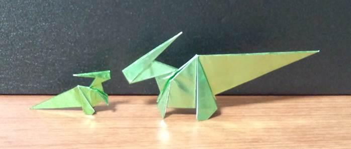 ハート 折り紙 恐竜 折り紙 作り方 : kyouryuuorigami.blog.fc2.com