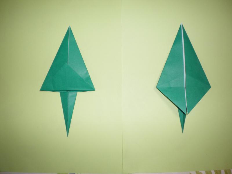 すべての折り紙 簡単恐竜折り紙 : ... 、ティラノ。 - 恐竜の折り紙