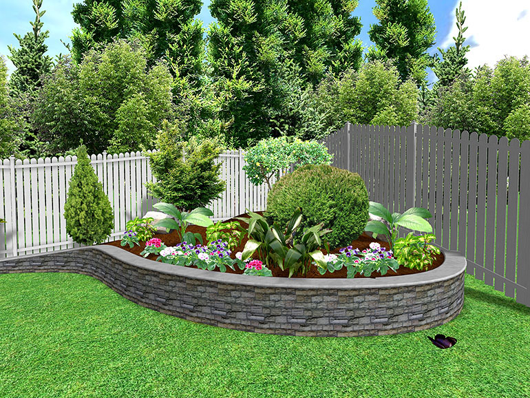 Landscape Flower Bed Ideas Arlene Designs