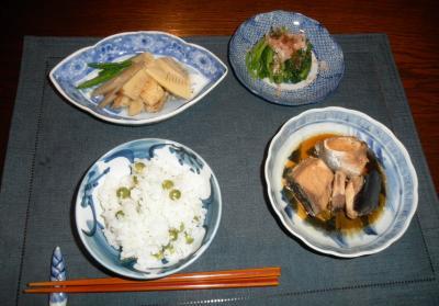 2012.04.29 29日の夕食