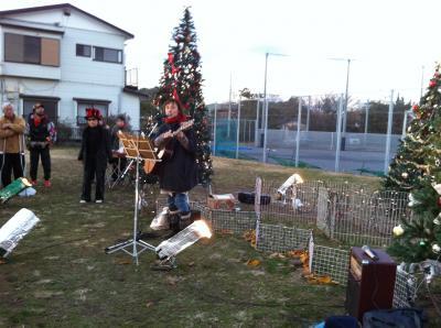 蓮池のクリスマス4
