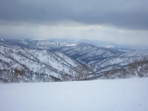 山頂らしき所からの眺め