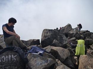 12アルゴプロ山頂