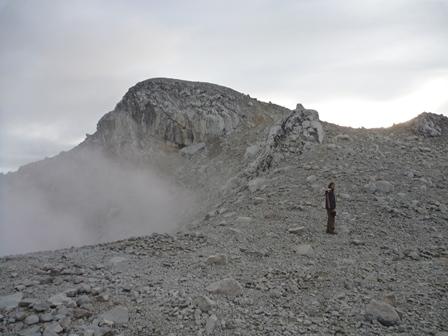23一番高いと言われた山頂