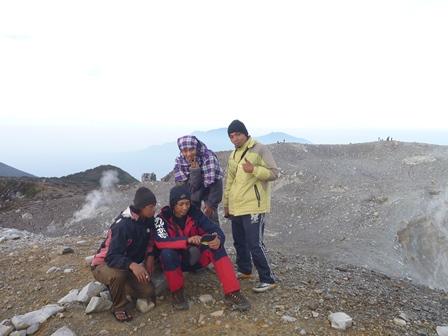 24一番高い山頂にて
