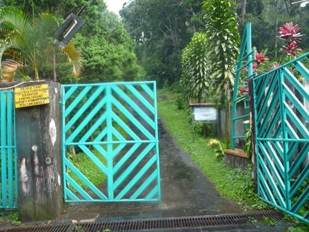 35 トレテスの登山ゲート