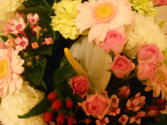 退職祝いのお花④