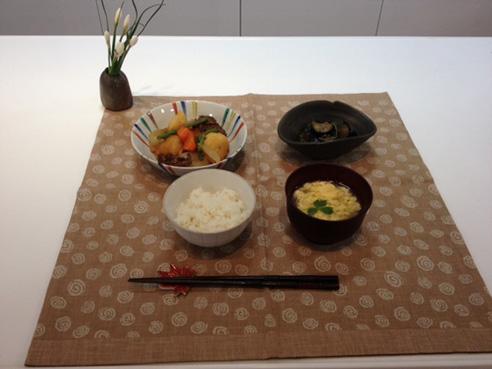 お料理教室①