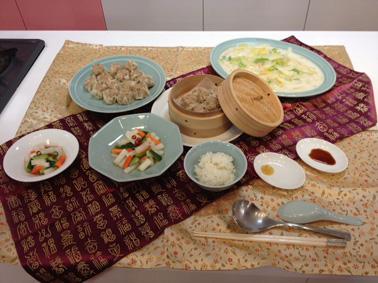 お料理教室③