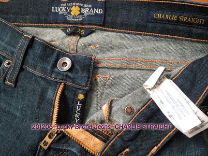 2012年6月 Lucky Brand Jeans-CHARLIE STRAIGHT