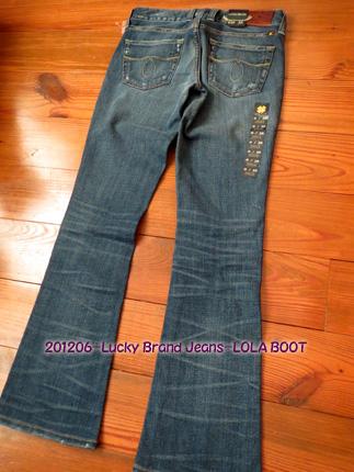 2012年6月 Lucky Brand Jeans-LOLA BOOT