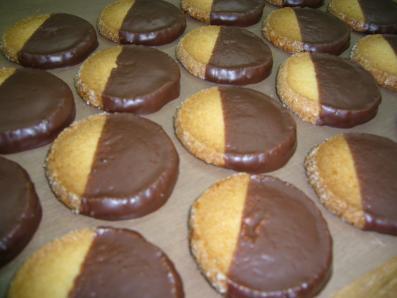 チョコがけクッキー