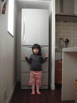 旧:日立の冷蔵庫