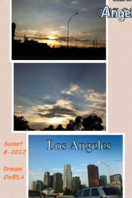 LA Sunset w