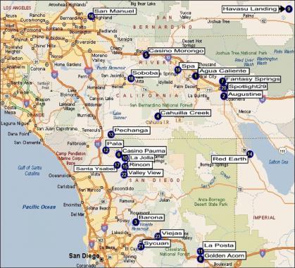 Casino Map