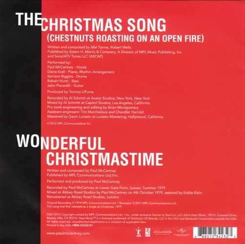 Paul McCartney - Christmas Kisses Back