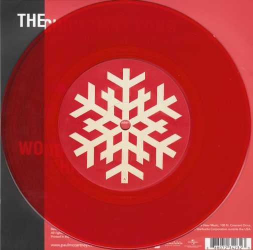 Paul McCartney - Christmas Kisses Label A-Side