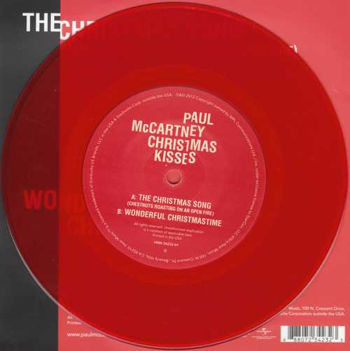 Paul McCartney - Christmas Kisses Label B-Side