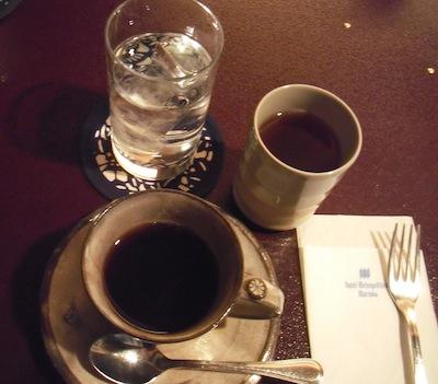 わんこ膳 食後のコーヒー