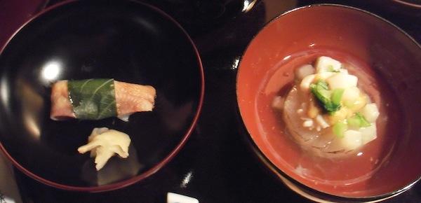 わんこ膳 1月 寿司とか