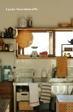 キッチン(リビングから)3