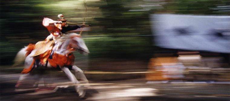 三島 夏祭り やぶさめ 流鏑馬