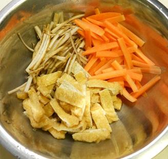 納豆炊き込みご飯1