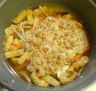 納豆炊き込みご飯4