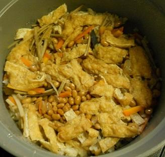 納豆炊き込みご飯5