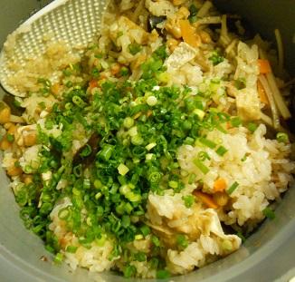 納豆炊き込みご飯6
