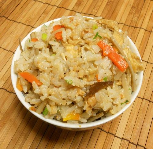 納豆炊き込みご飯8
