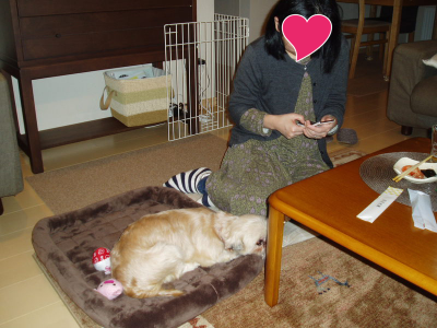 モコとママさん2