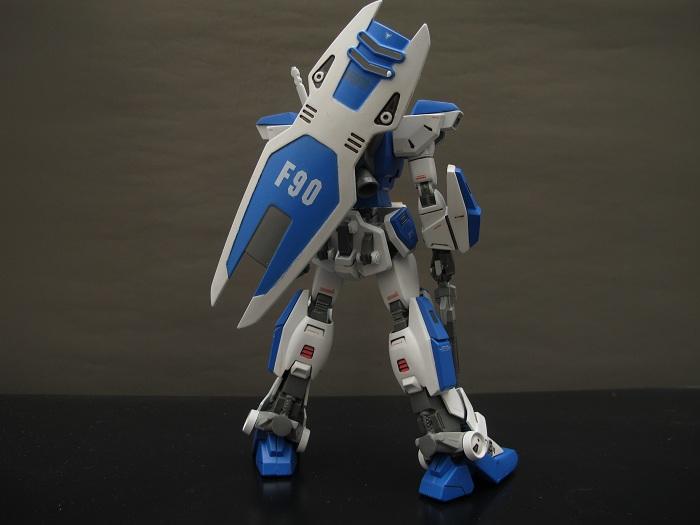 ガンダムF90 完成 (4)
